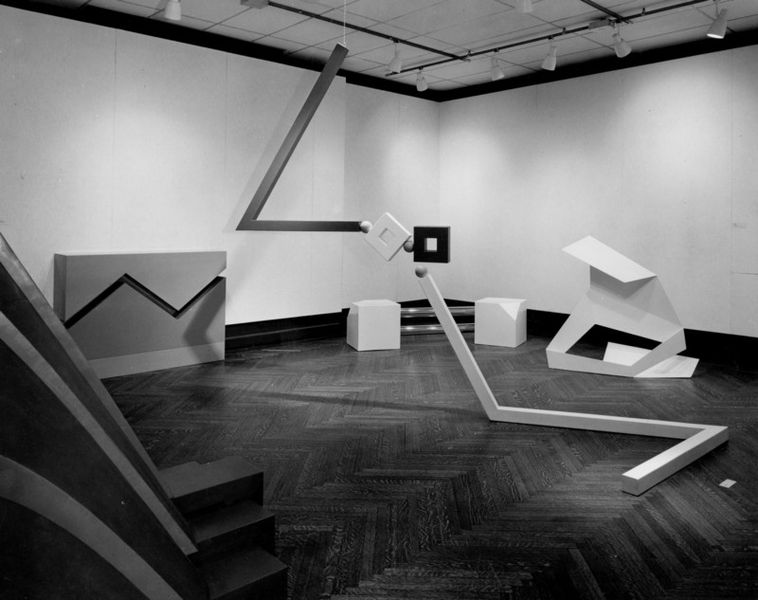 Installation view of the exhibition Primary Structures