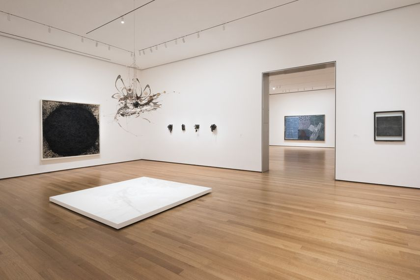 visit the museum at 53rd Street to see the installation view of the painting collection