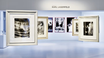 Installation views, Homage to Karl Lagerfeld 30 Years of Photography, Galerie Gmurzynska