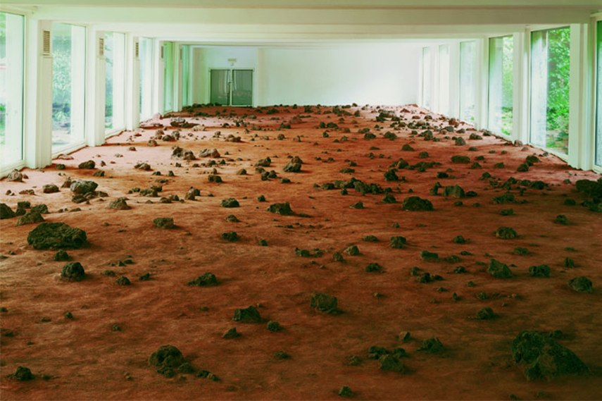 Interior Land art