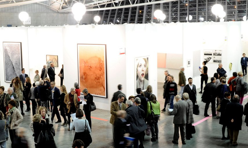 Interior of Artissima Fair, photo by GiorgioPerottino