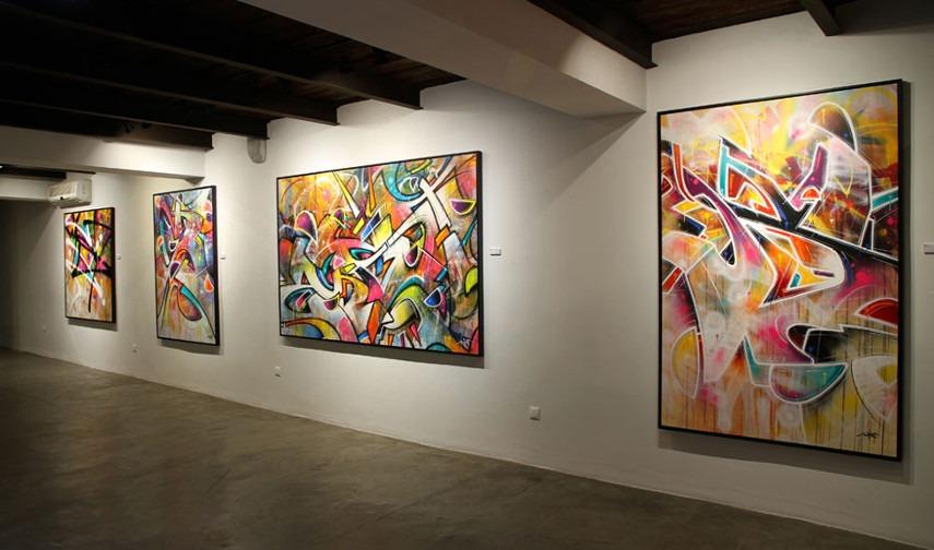 IntoThe Wild Exhibition at David Bloch Gallery