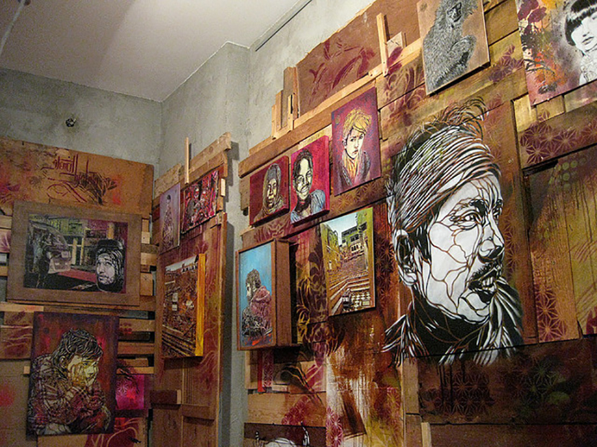 Urban art gallery
