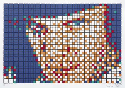 Invader-Alex, Rubik Kubrick-2007