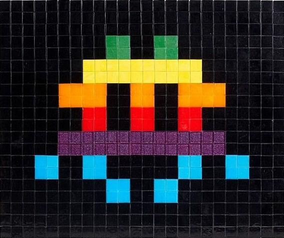 Invader-Apple Space-2009