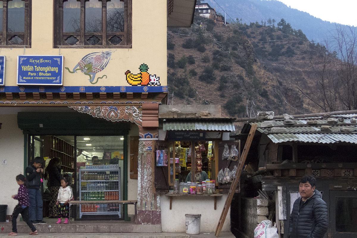 Invader Bhutan