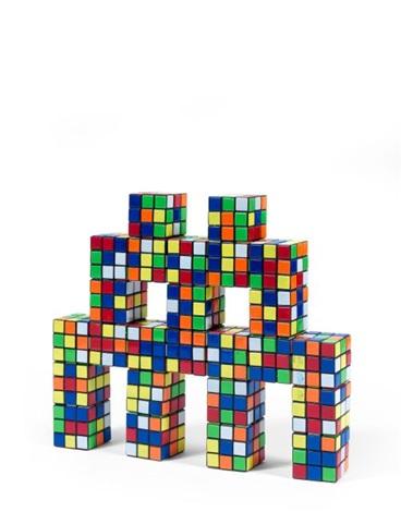 Invader-Camo Rubik Octopus-2005
