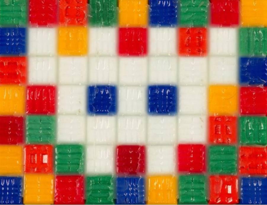 Invader-Composition Cubique-