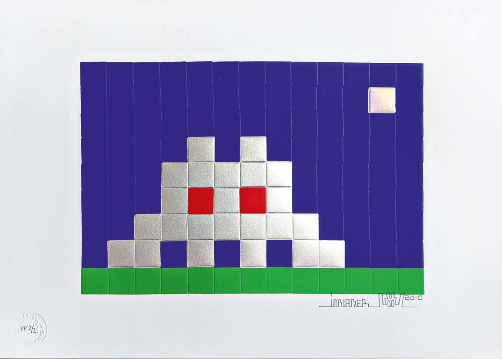 Invader-Home Mars-2010