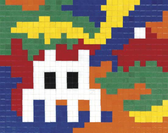 Invader-Lost in Rubik Camo-2007