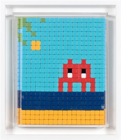 Invader-Mission Miami Mosaique Cover 8-2012