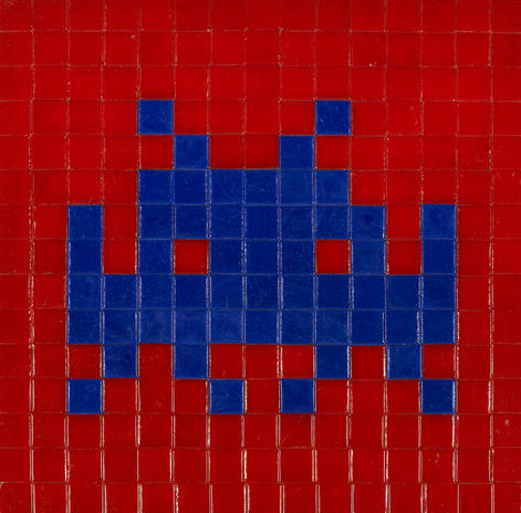 Invader-One Space-2005