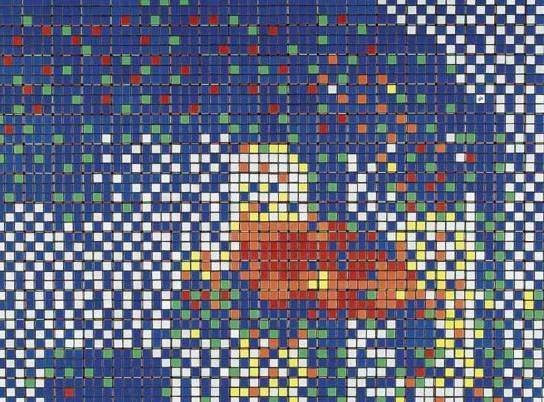 Invader-Rubik 9-11-2006