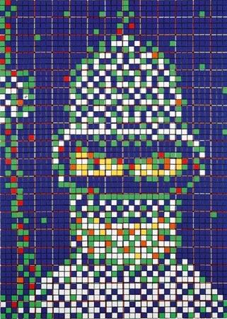 Invader-Rubik Bender-2010