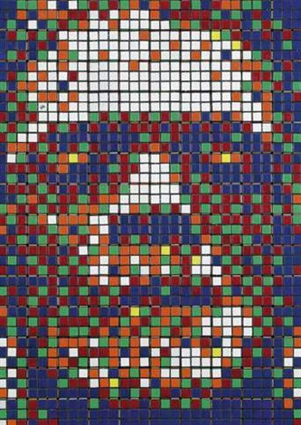 Invader-Rubik Little Frankenstein-2008