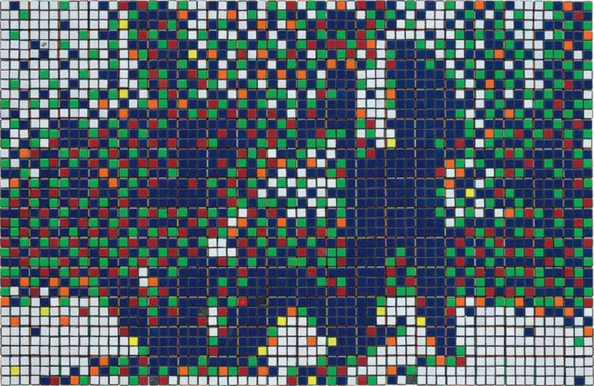 Invader - Rubik Mr. Pink And Mr. White
