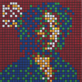Invader-Rubik Rebel Music (Bob Marley)-2010