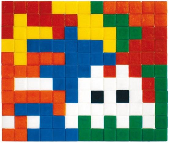 Invader-Runner on Rubik Camo-2006