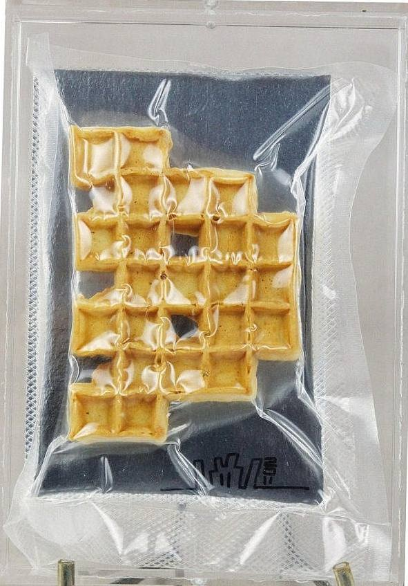 Invader-Space Waffle-2011