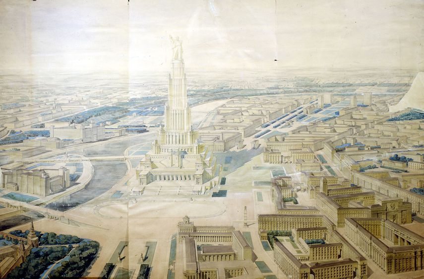 Iofan, Chtchuko, Gelfreikh - Pavillon des Soviets à Moscou