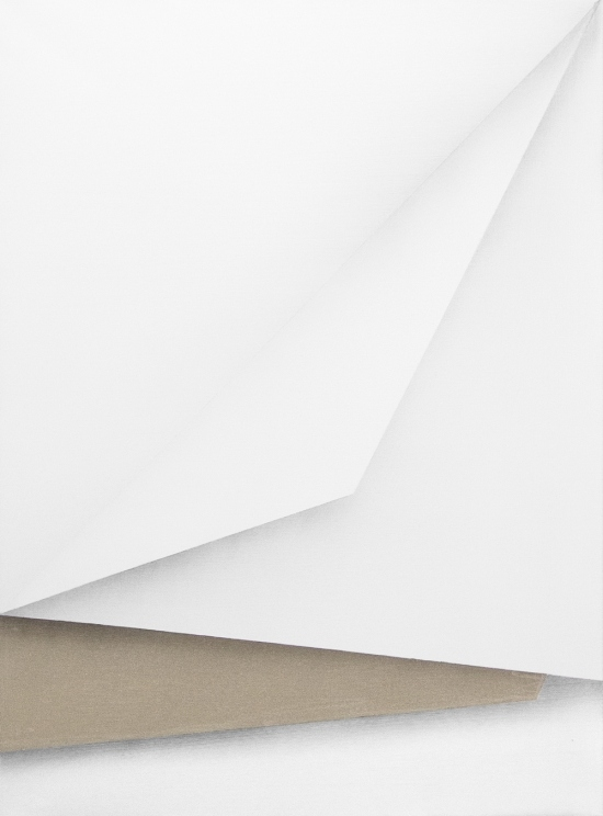 Ira Svobodova - Papercut #8, 2015, photo courtesy of CES Gallery, abstract art, abstract painting
