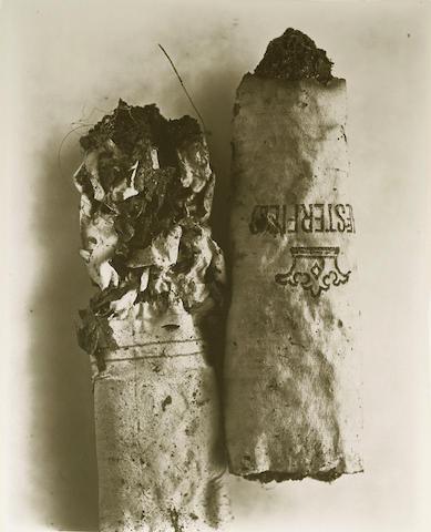 Irving Penn-Cigarette No. 48-1972