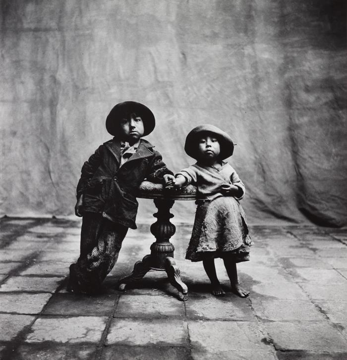 Irving Penn-Cuzco Children, Peru, December-1948