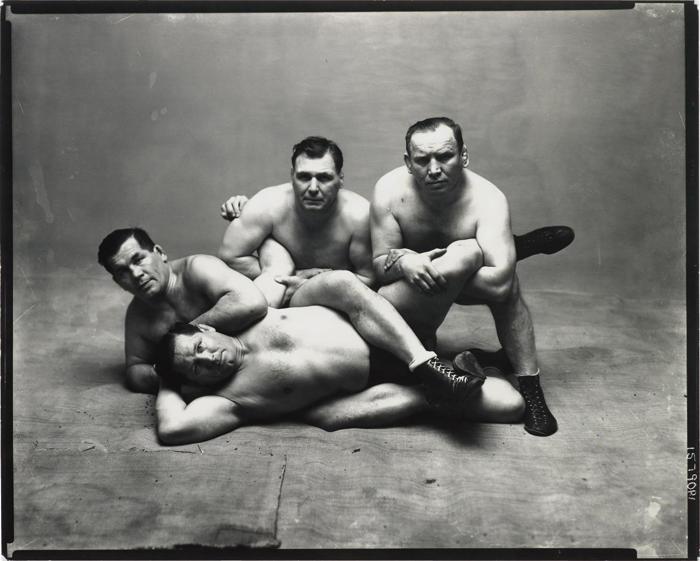 Irving Penn-Dusek Brothers, New York-1948