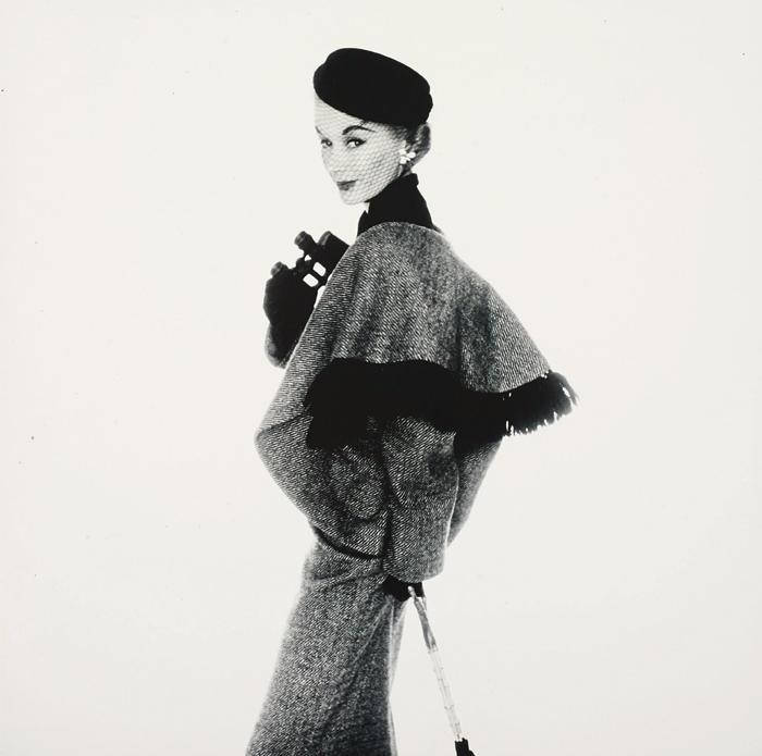 Irving Penn-Fashion Photograph (Vogue Cover), New York, (Lisa Fonssagrives-Penn)-1951