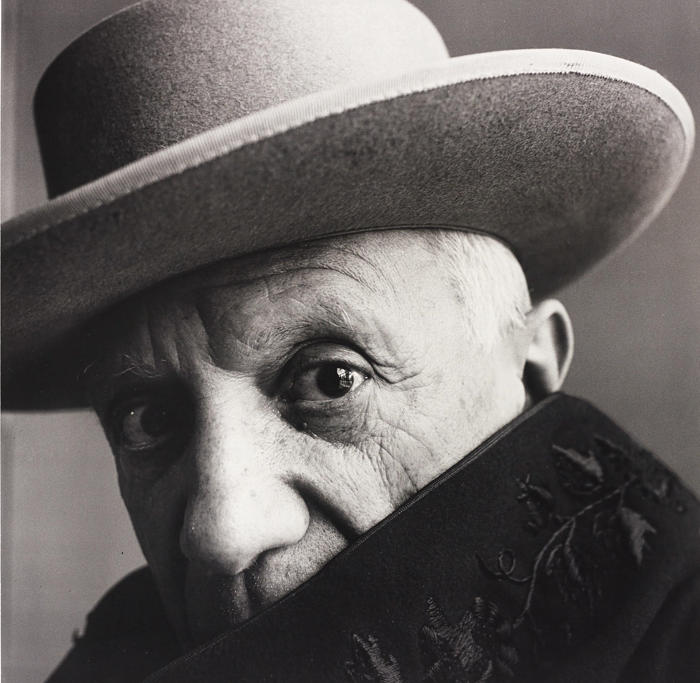 Irving Penn-Pablo Picasso at La Californie, Cannes, France-1957