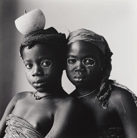 Irving Penn-Pila Pila Sisters, Dahomey-1967