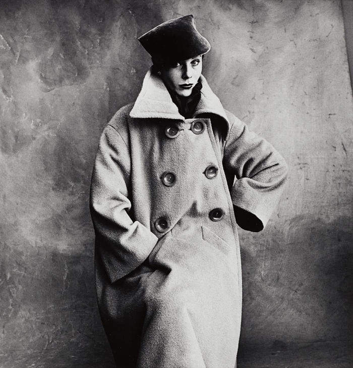 Irving Penn-Schiaparelli Coat (Bettina)(A), Paris-1950