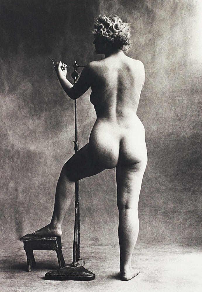 Irving Penn-Sculptor's Model, Paris-1950