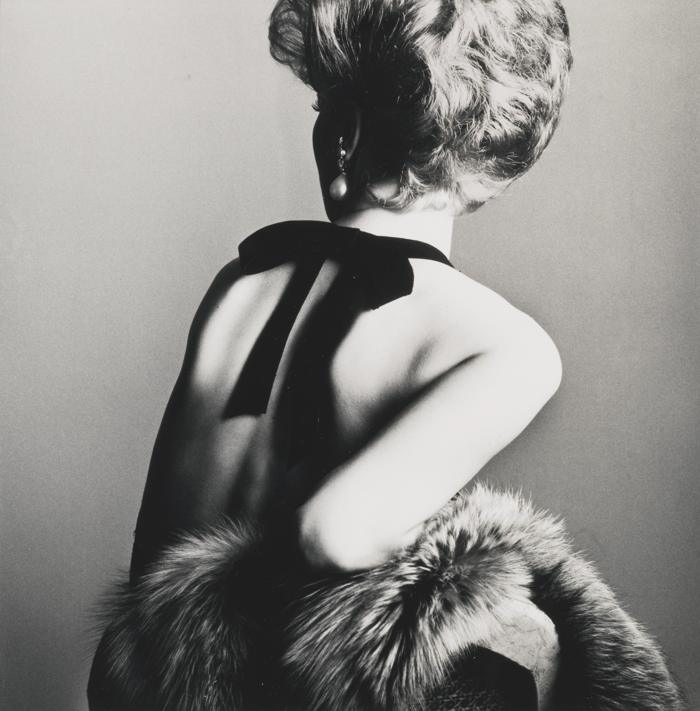 Irving Penn-Woman With Bare Back New York-1961
