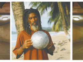 Isaac Julien-Before Paradise (Man With Ball)-2002