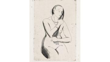 Isabel Bishop - Nude