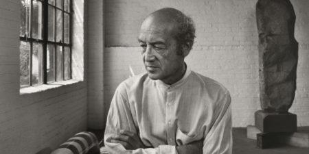 sculpture Isamu Noguchi, 1980, photo credits Art Blart museum museum museum
