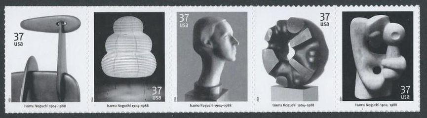 Isamu Noguchi USPS postal stamps