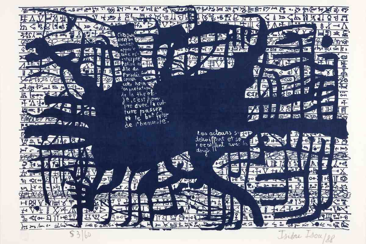 Isidore Isou - Polylogue Hypergraph