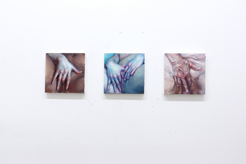 Ivan Alifan - Hands study, Installation view 2