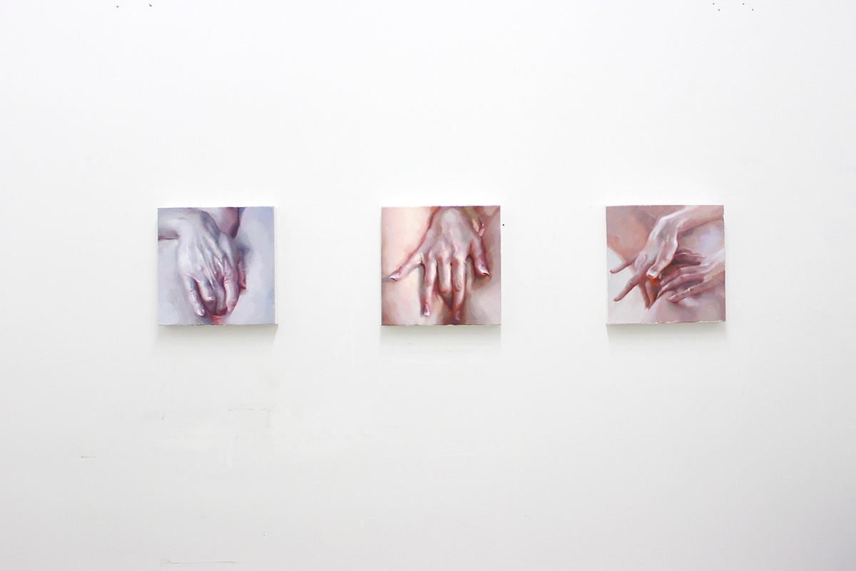 Ivan Alifan - Hands study, installation view