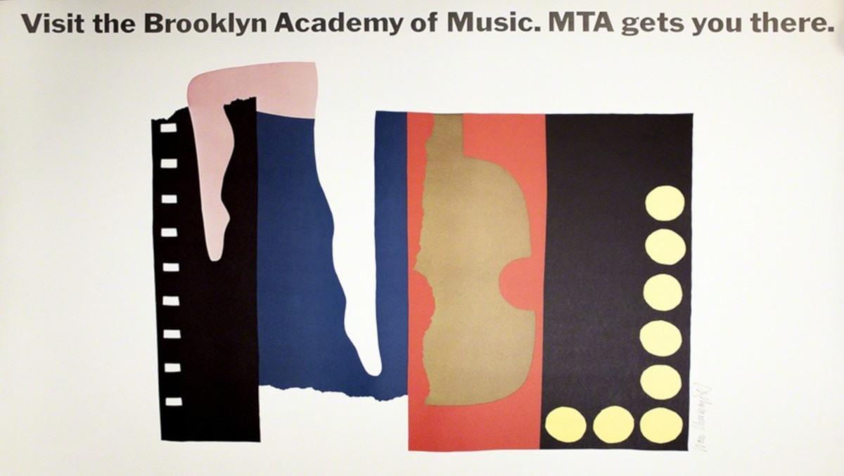 Ivan Chermayeff - MTA Visit the Brooklyn Academy of Music (detail)