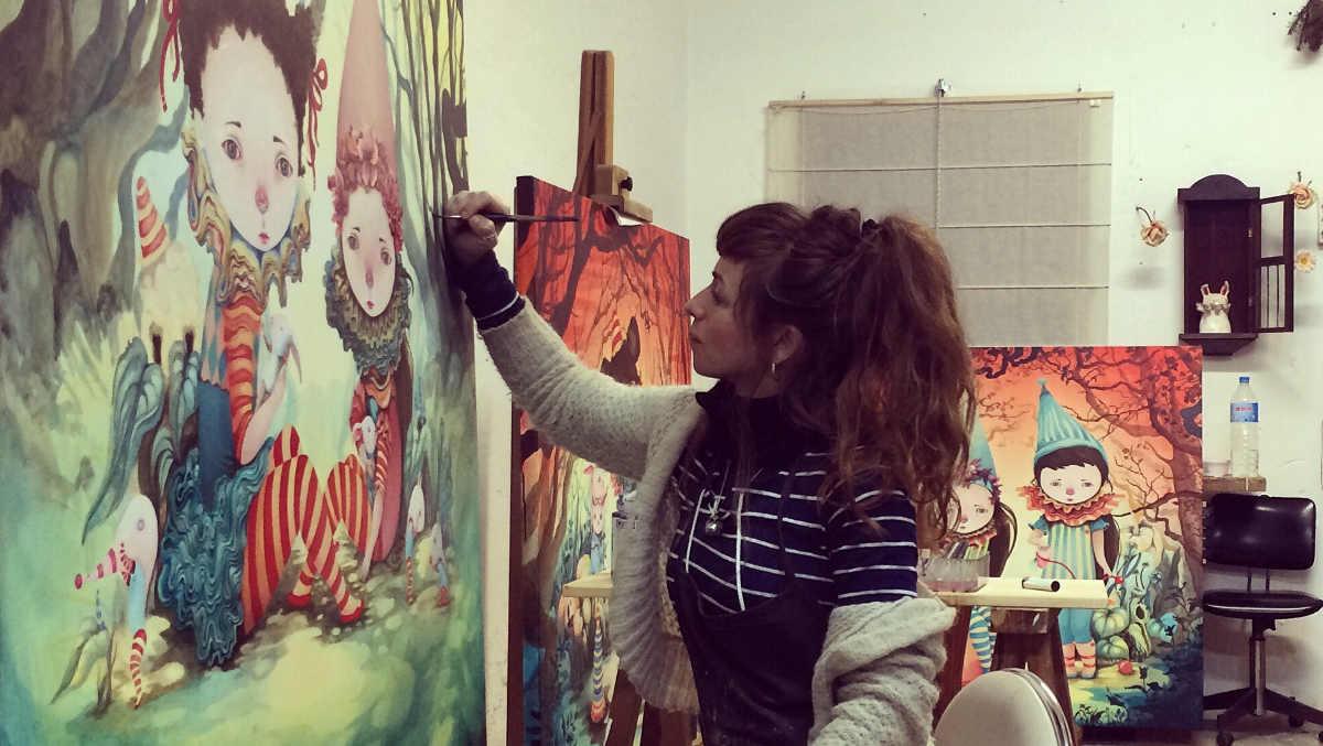 Ivana Flores - work in progress
