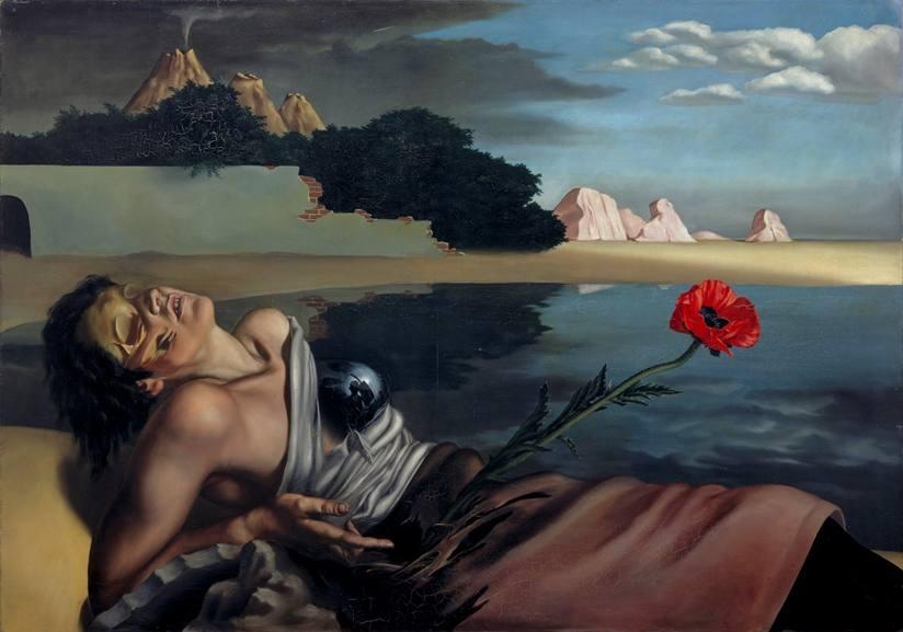 J.H. Moesman - Selfportrait