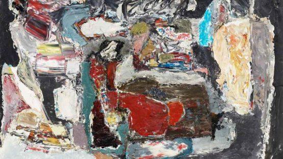JACQUES DOUCET - PRESENCE NOCTURNE, 1960, detail