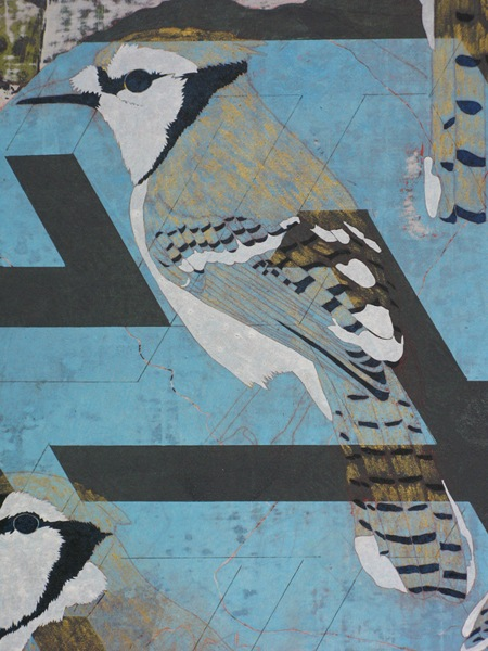 JAMES FISHER Isabella Bird 2014, detail, courtesy Eagle Gallery London