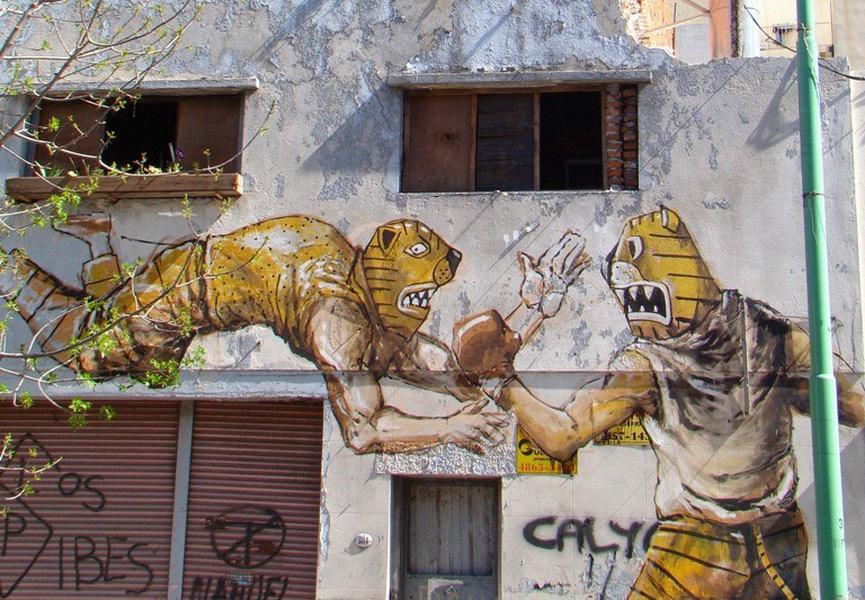 Latin urban art