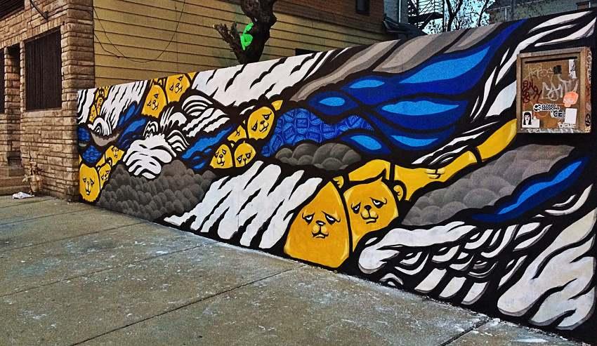 JC Rivera - street art in Chicago, IL