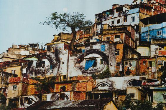 JR-28 Millimetres, Women are Heroes - Action dans la Favela Morro Da Providencia-2009