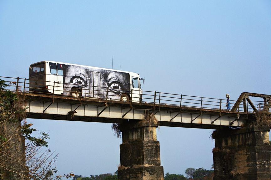 28 Millimeters, Women Are Heroes, Bus in Sierra-Leone, Bo City, Sierra Leone, 2008